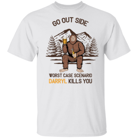 Hot Go Outside Worst Case Scenario A Bear Kills You Vintage shirt